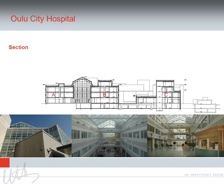 Oulu City Hospital Section ABC