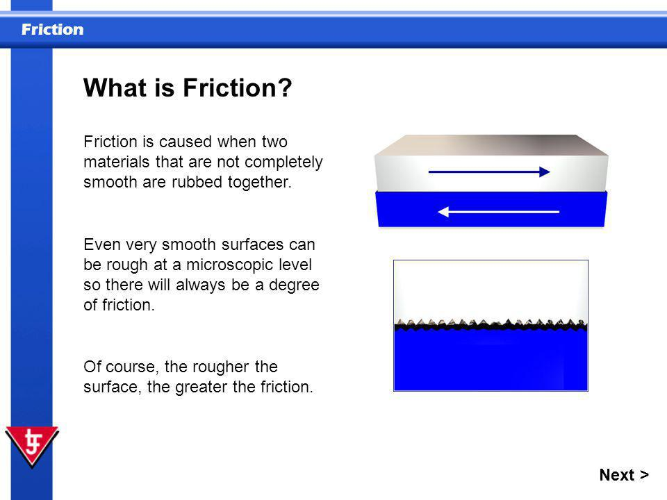 Friction 1 What is friction.Question A) The heat of an object.