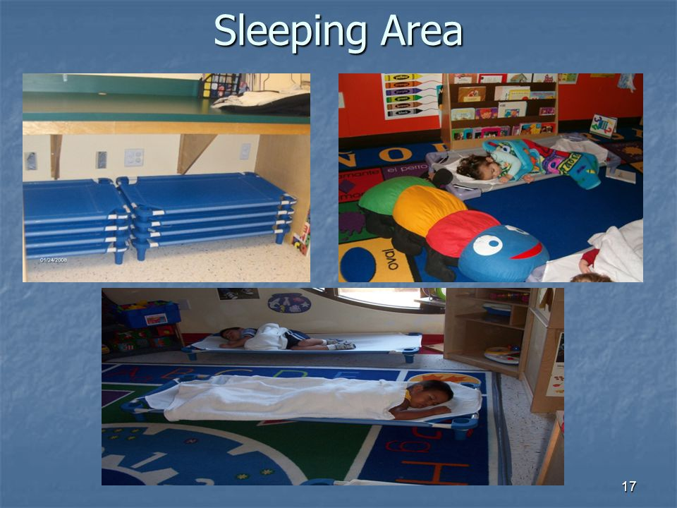 Sleeping Area 17
