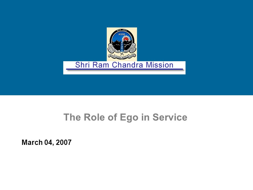 Shri Ram Chandra Mission, Inc.Copyright © 2005. All rights reserved.