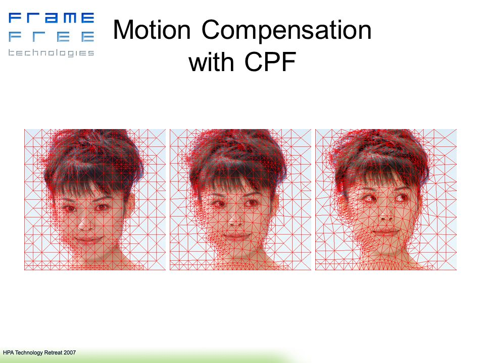 Motion Compensation with CPF