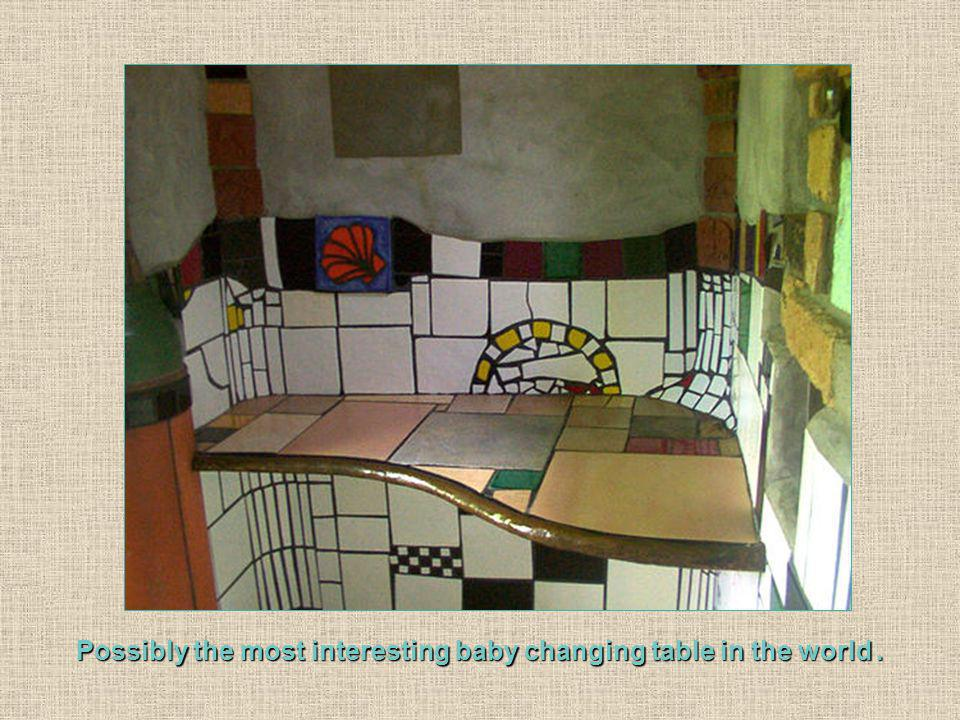 Possibly the most interesting baby changing table in the world. Possibly the most interesting baby changing table in the world.