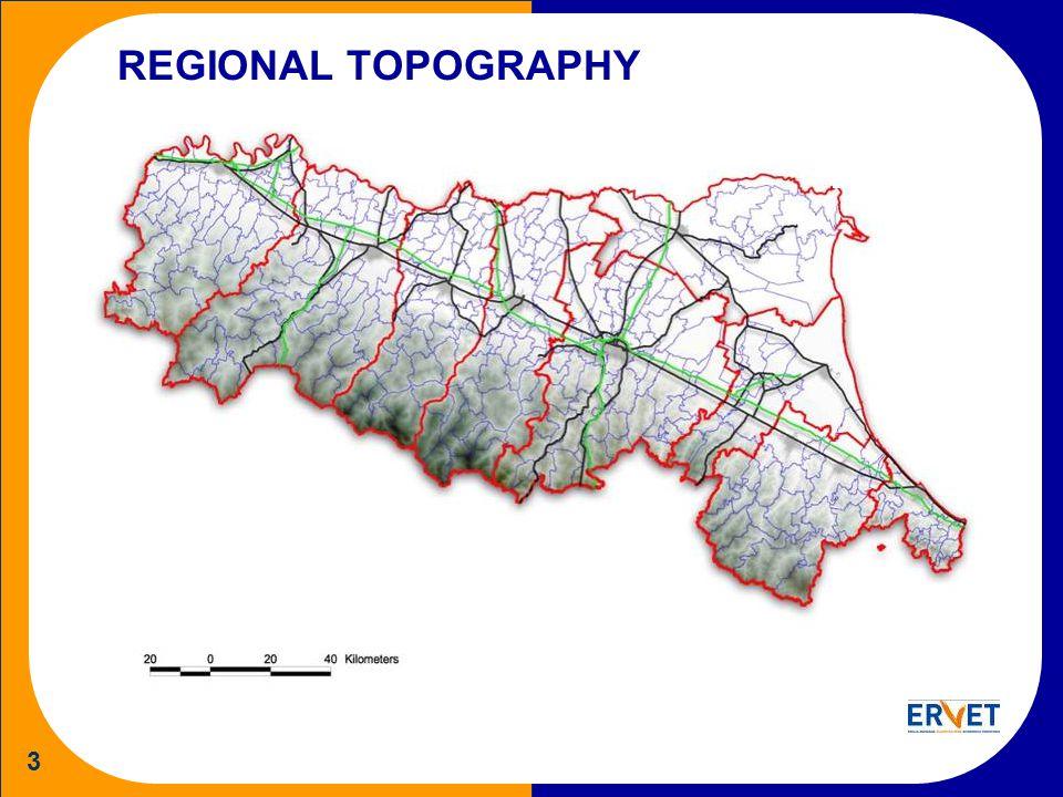 3 REGIONAL TOPOGRAPHY