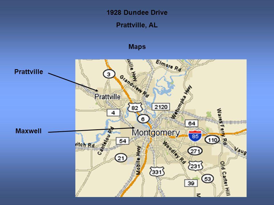 1928 Dundee Drive Prattville, AL Maps Prattville Maxwell