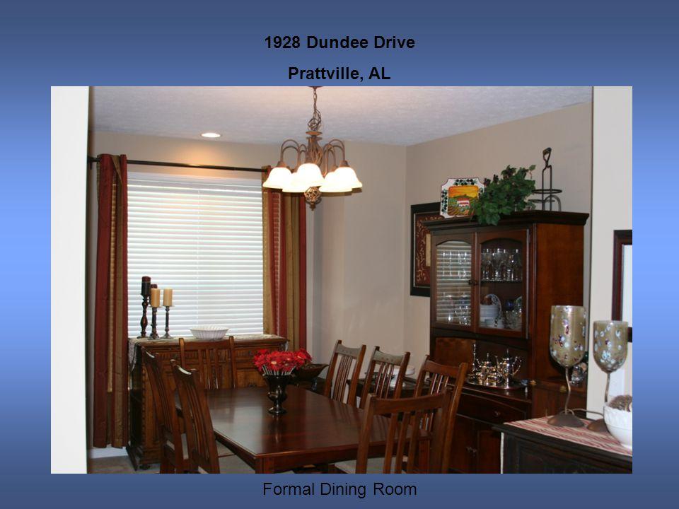 1928 Dundee Drive Prattville, AL Formal Dining Room