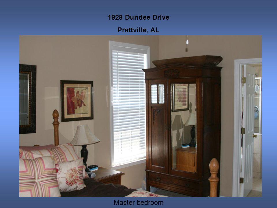 1928 Dundee Drive Prattville, AL Master bedroom