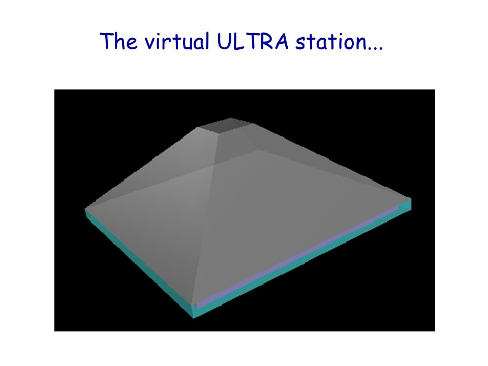 The virtual ULTRA station...