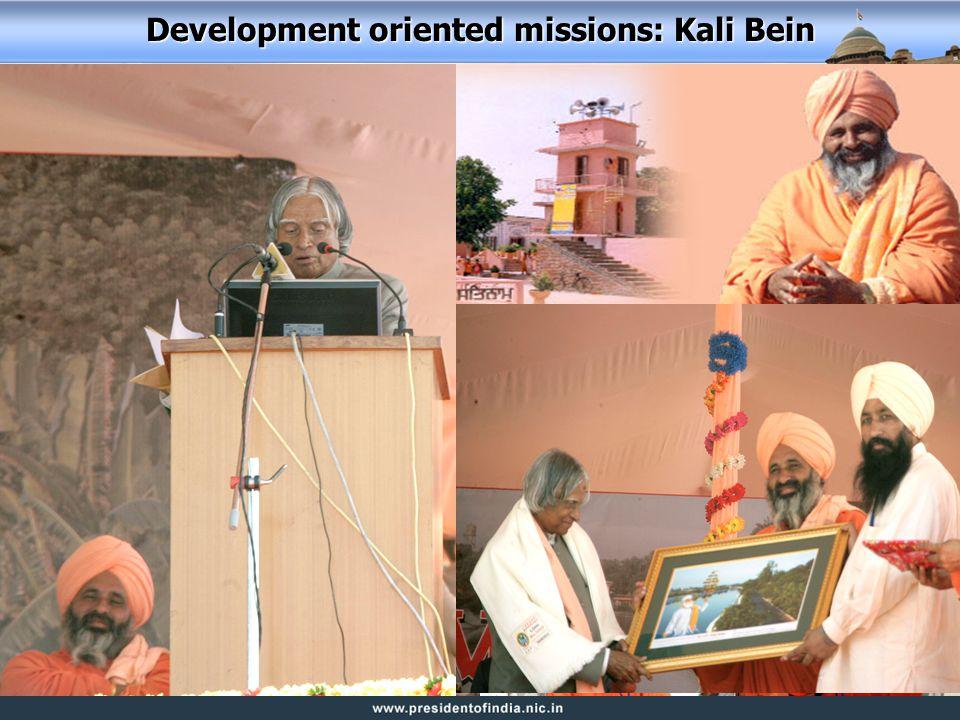 Development oriented missions: Kali Bein