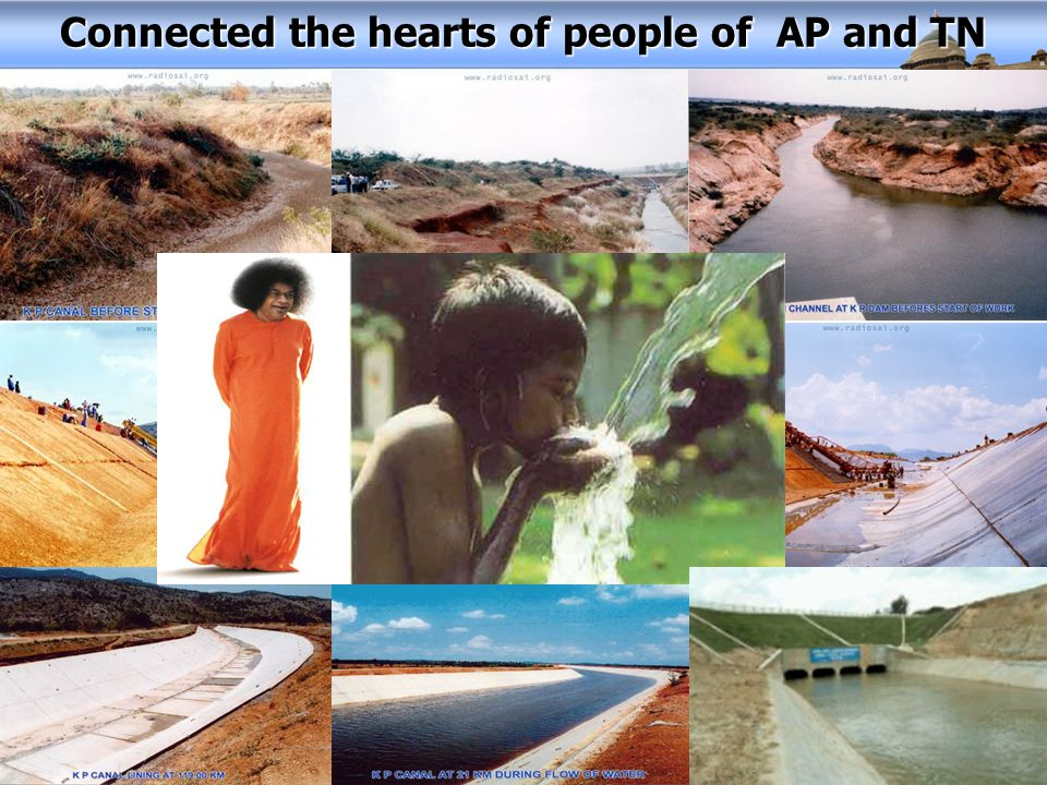 Connected the hearts of people of AP and TN