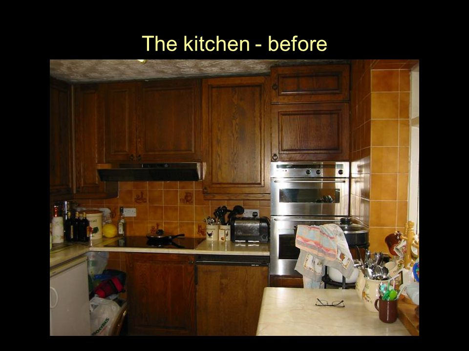 The kitchen - before