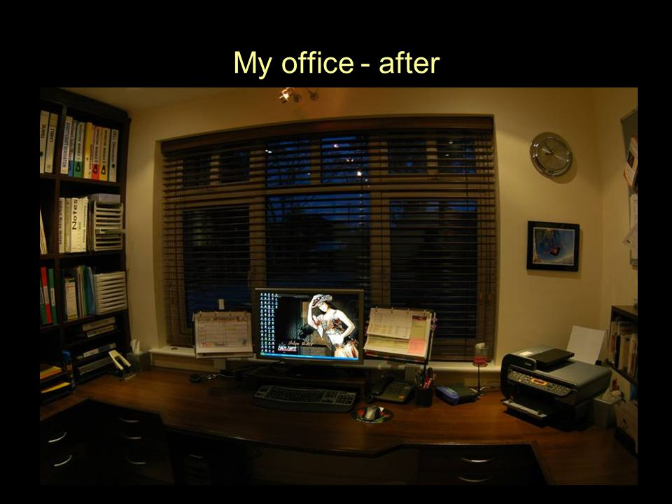 My office - after