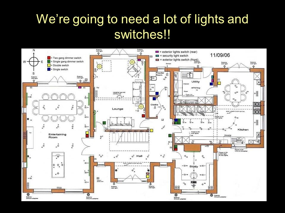 Were going to need a lot of lights and switches!!