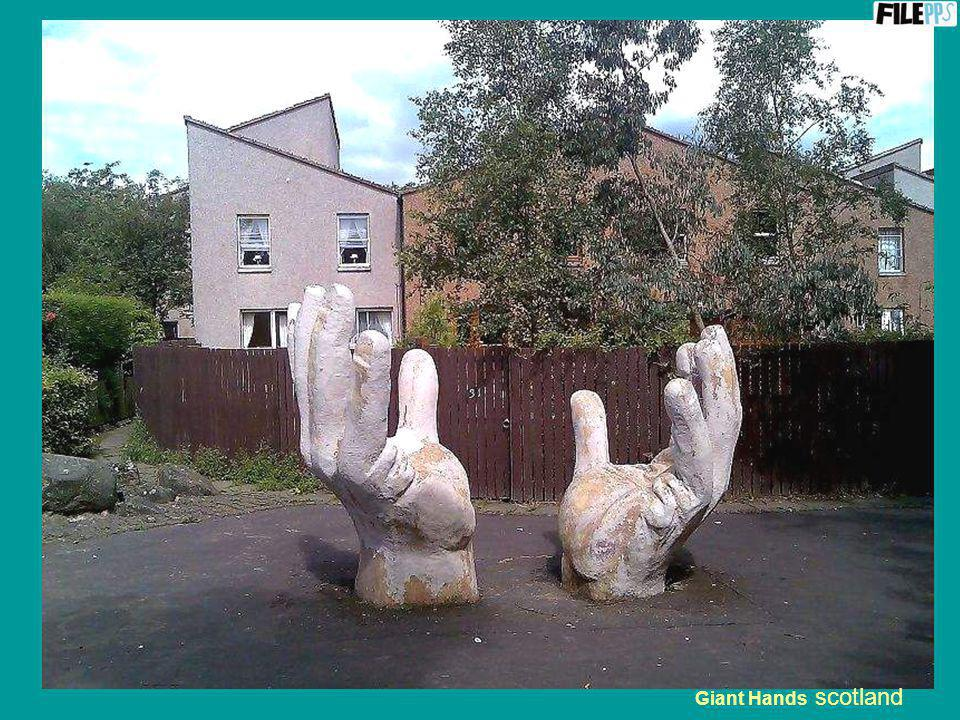 Giant Hands scotland