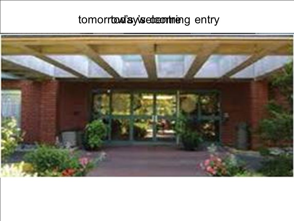 tomorrows welcoming entrytodays centre