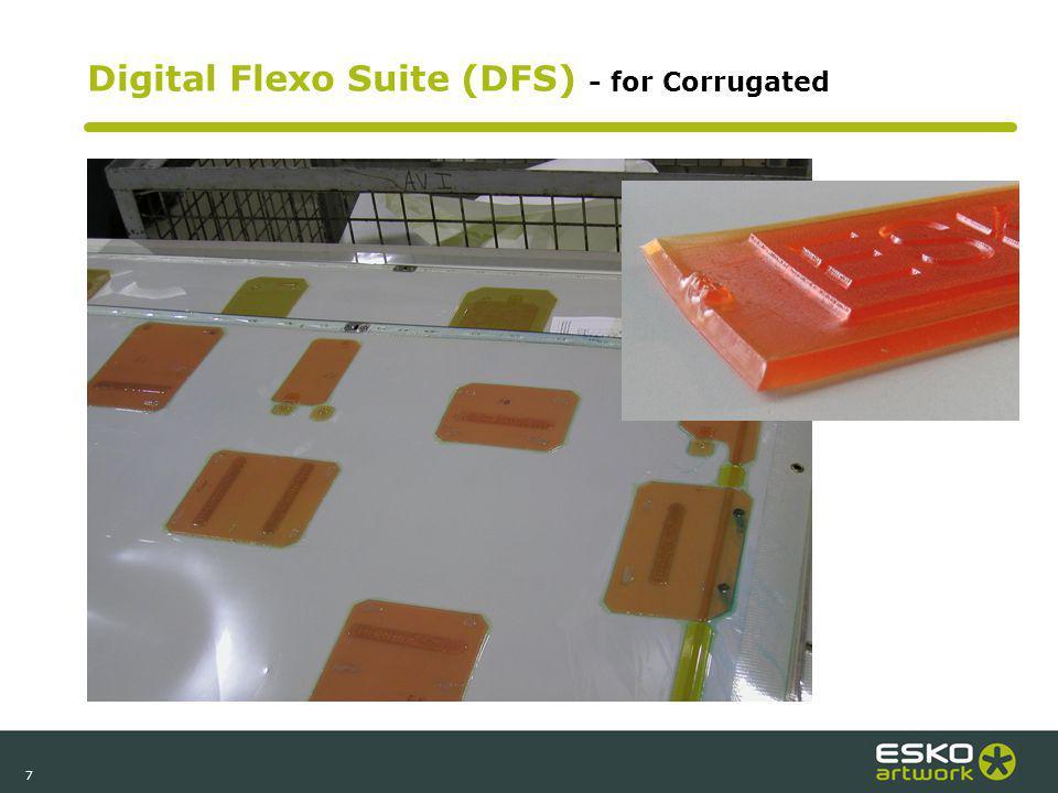 7 Digital Flexo Suite (DFS) - for Corrugated