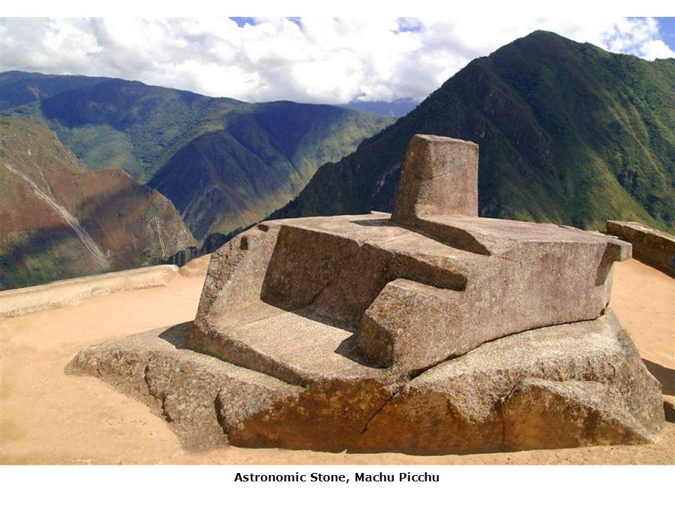 Astronomic Stone, Machu Picchu
