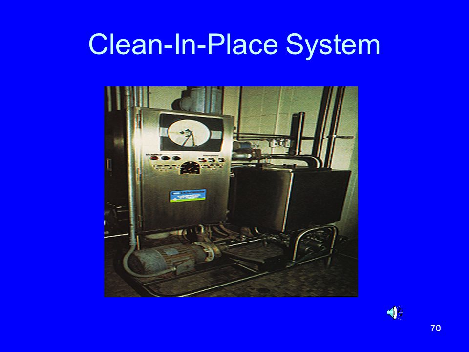 70 Clean-In-Place System