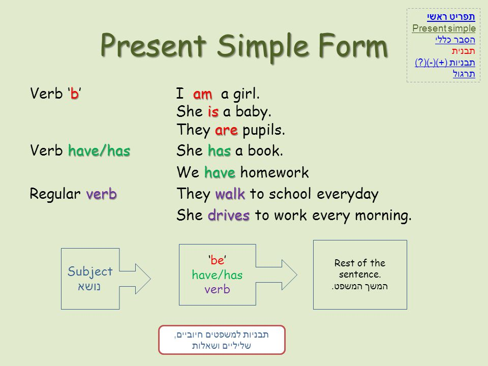 Practice on present simple sentences 1.My dad _____ singing.