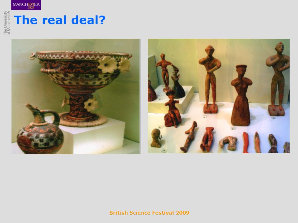 British Science Festival 2009 The real deal