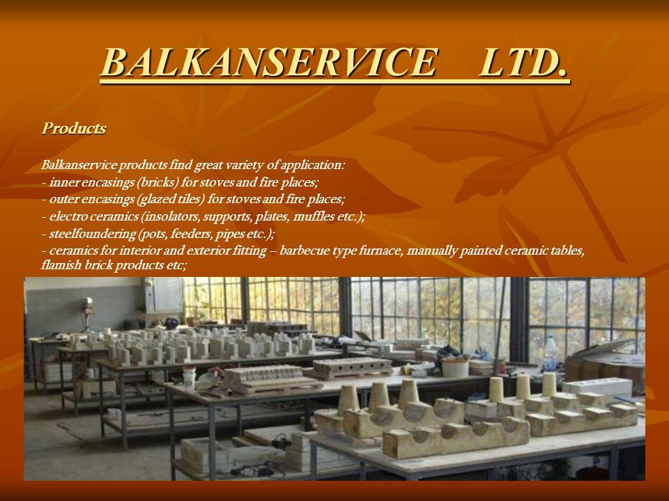 BALKANSERVICE LTD.