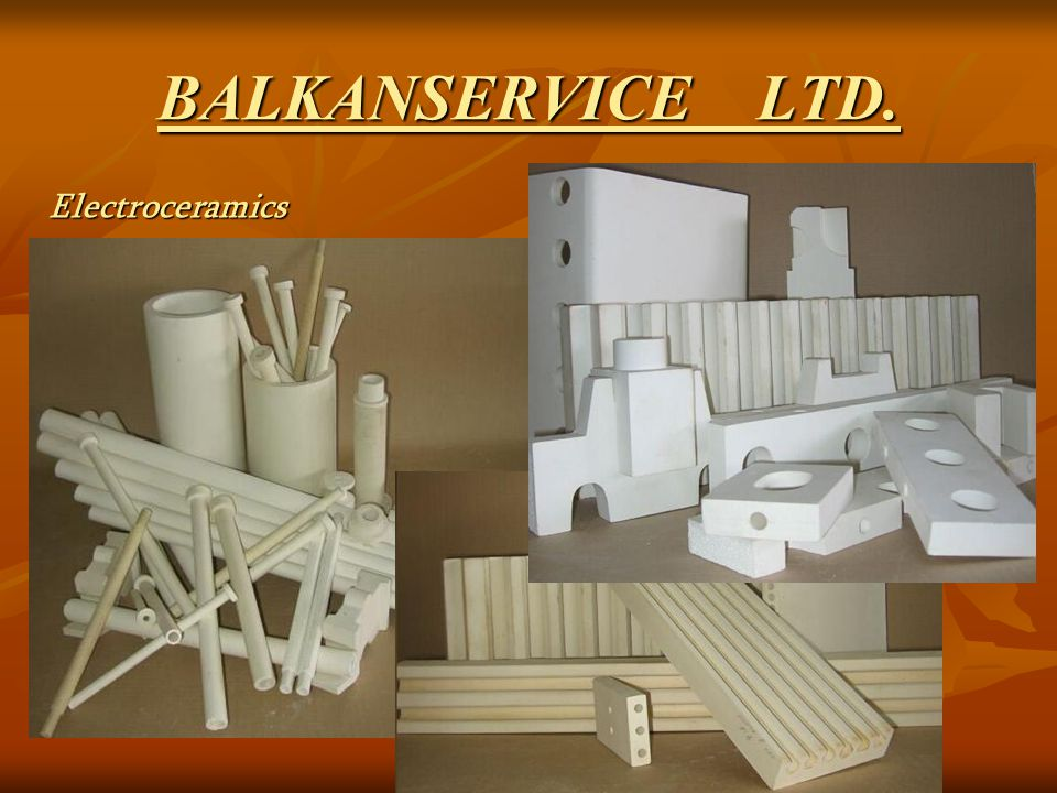 BALKANSERVICE LTD. Insolators, supports, muffles and plates