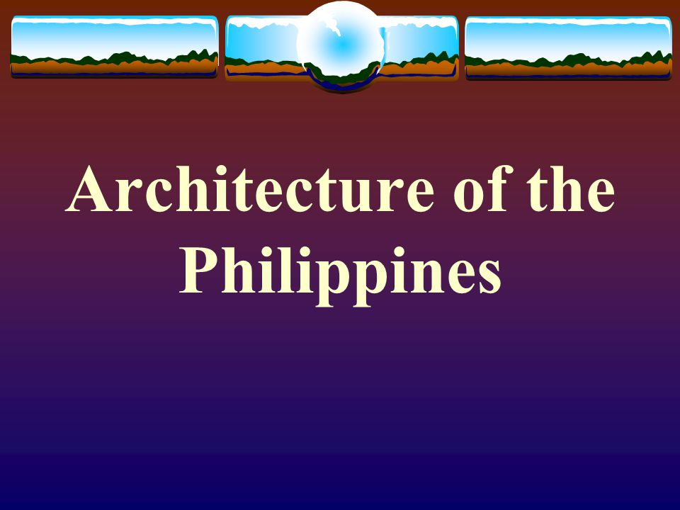 Architecture of the Philippines