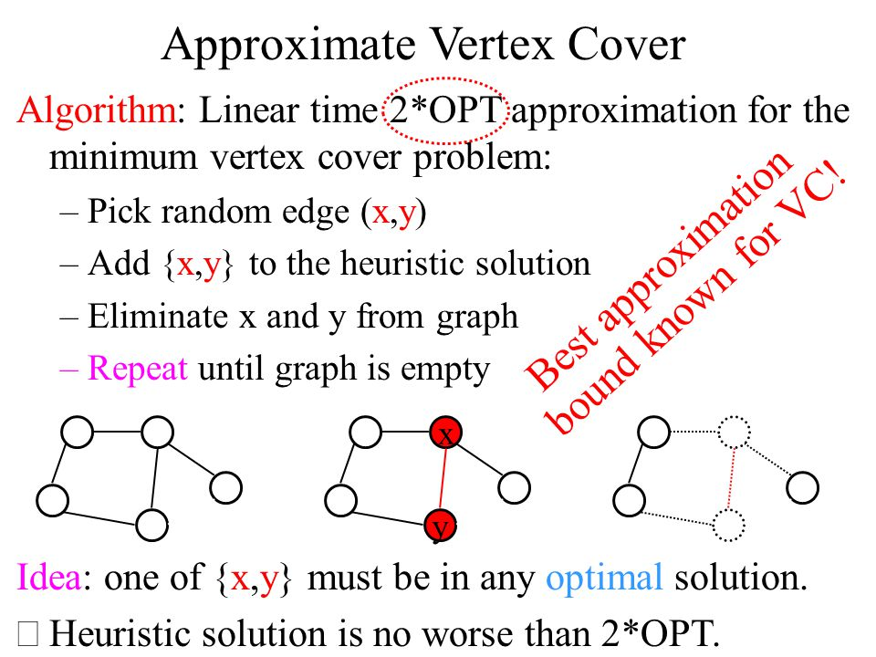 Maximum Cut Maximum cut problem: Given a graph, find a partition of the vertices maximizing the # of crossing edges.