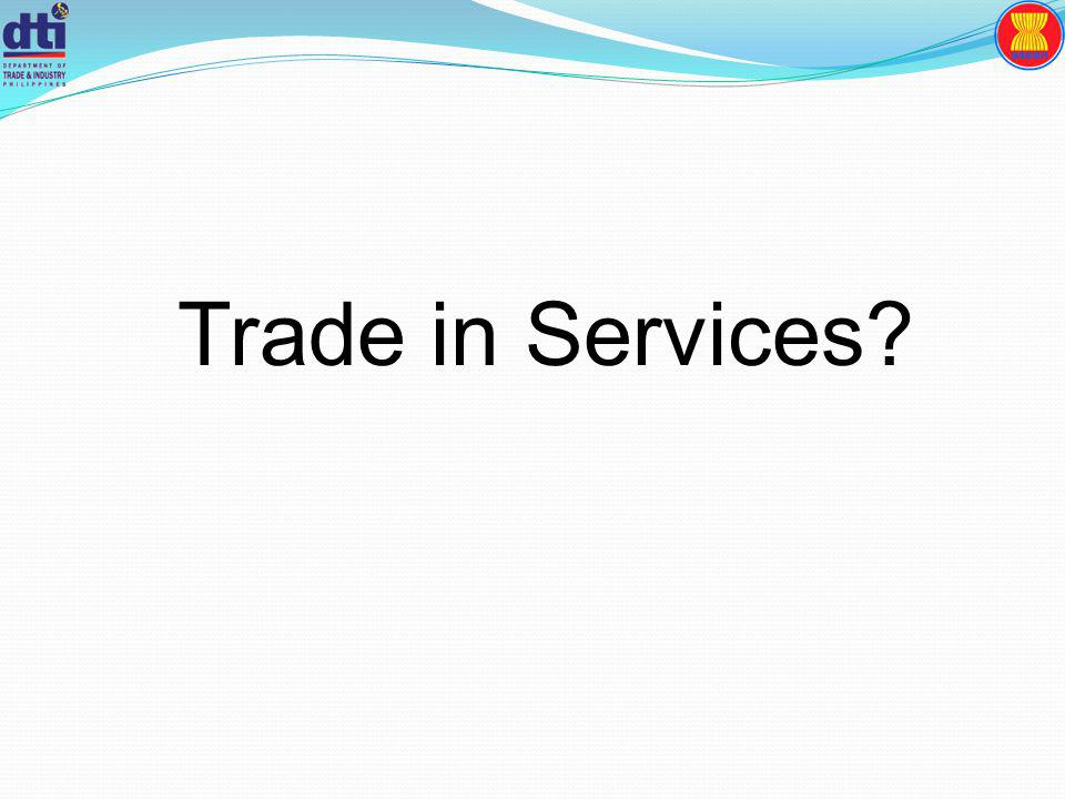 Trade in Services?