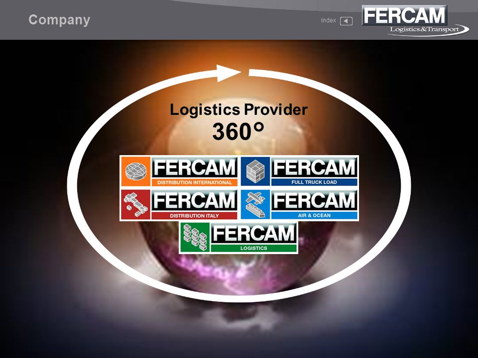 Full Truck Load Index F Many of todays leading companies use FERCAM services.