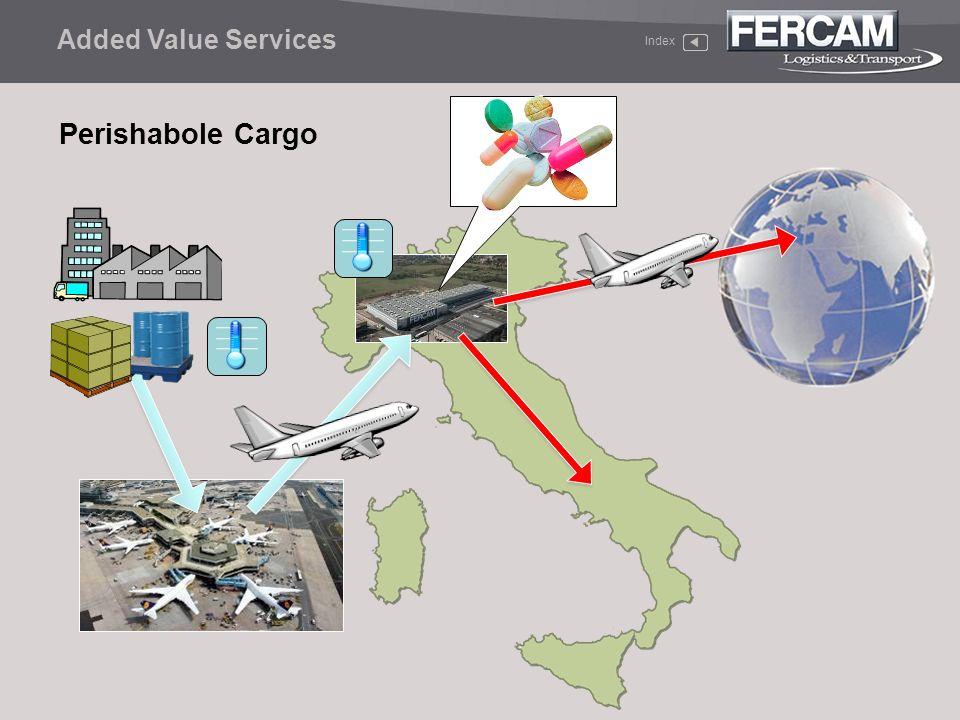 Added Value Services Index Perishabole Cargo