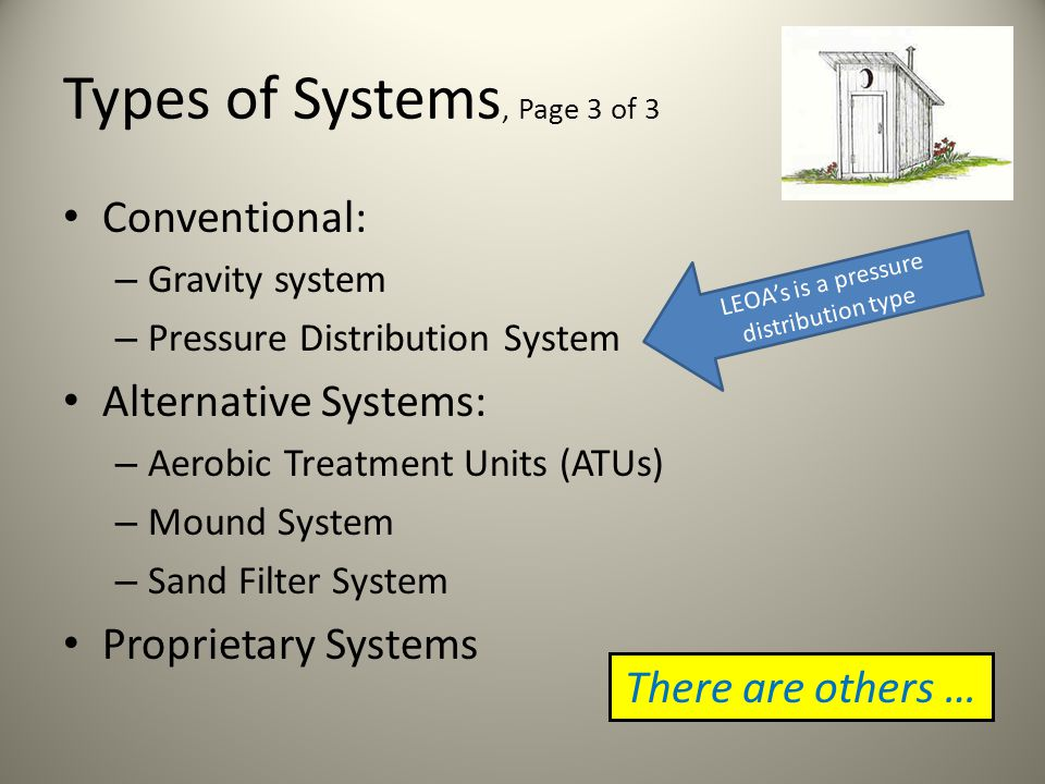 Types of Systems, Page 2 of 3 Public systems