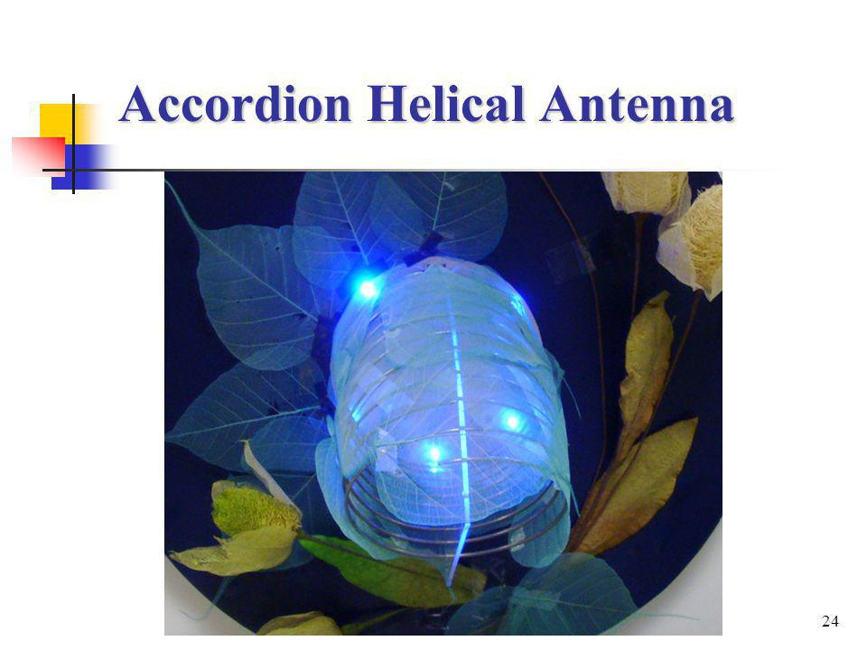 24 Accordion Helical Antenna