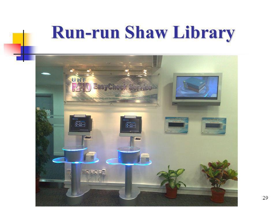 29 Run-run Shaw Library