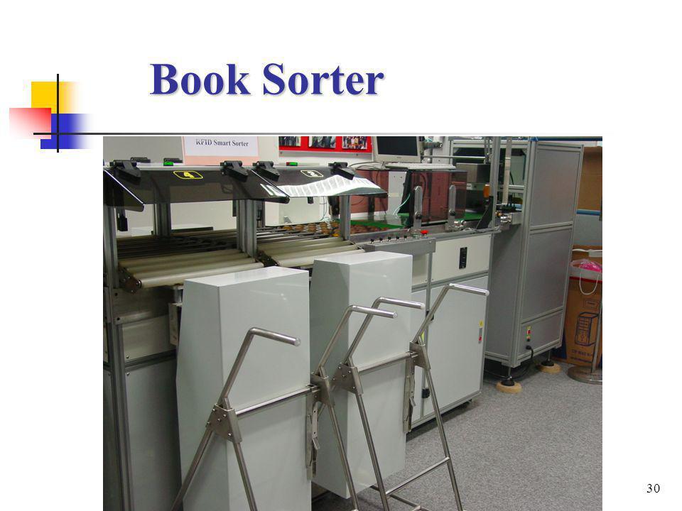 30 Book Sorter