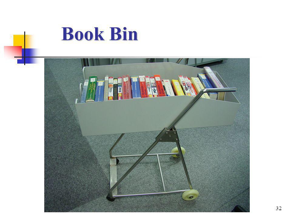 32 Book Bin