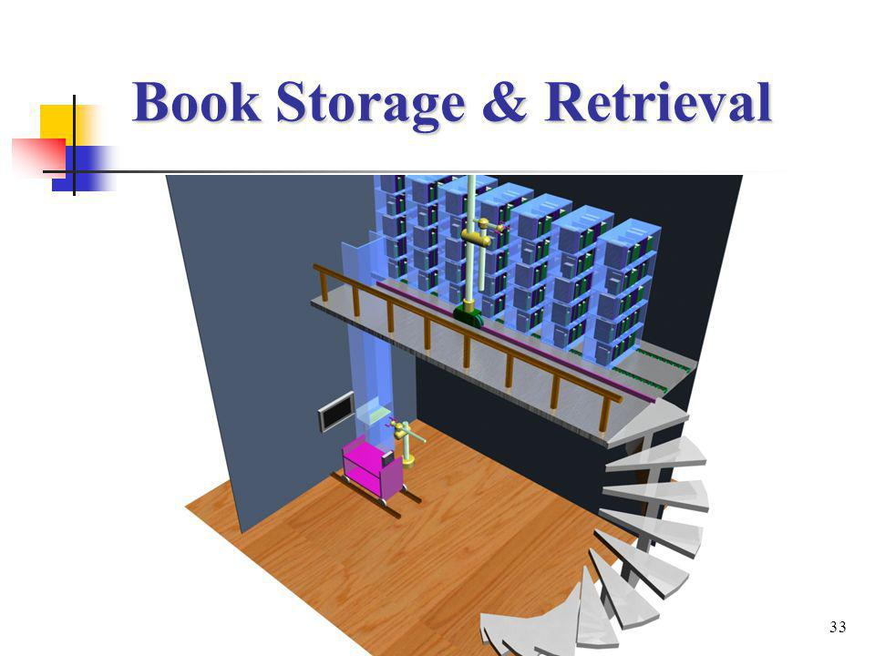33 Book Storage & Retrieval