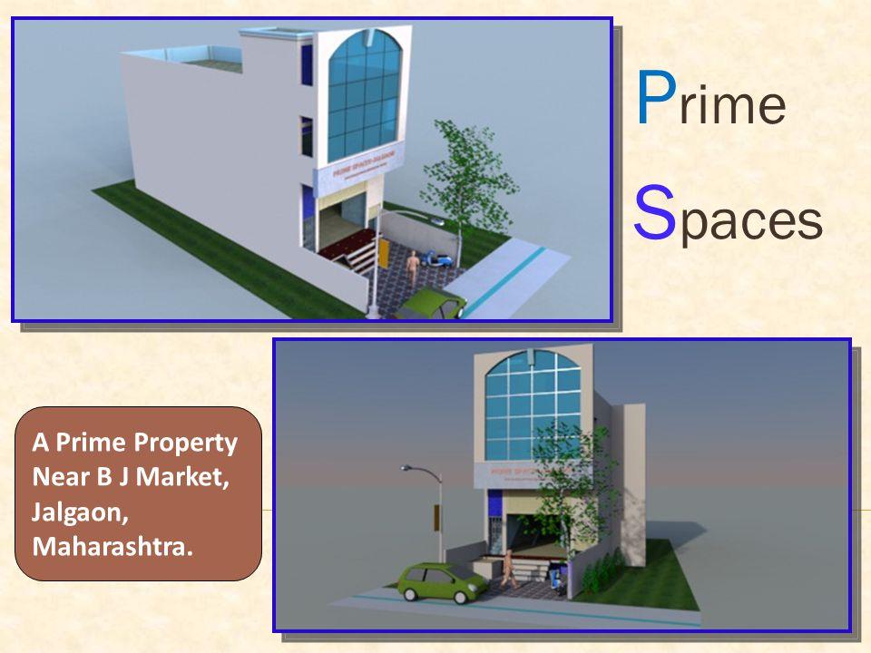 P rime S paces A Prime Property Near B J Market, Jalgaon, Maharashtra.