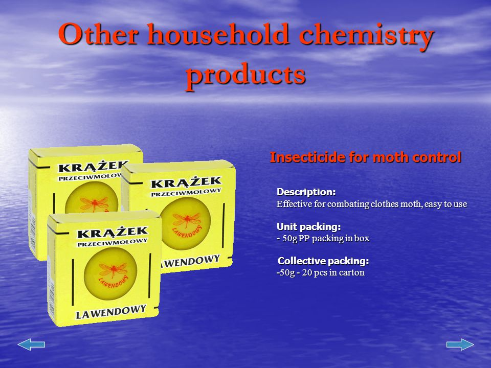 Other household chemistry products Insecticide for cockroach control Description: - in powder form.