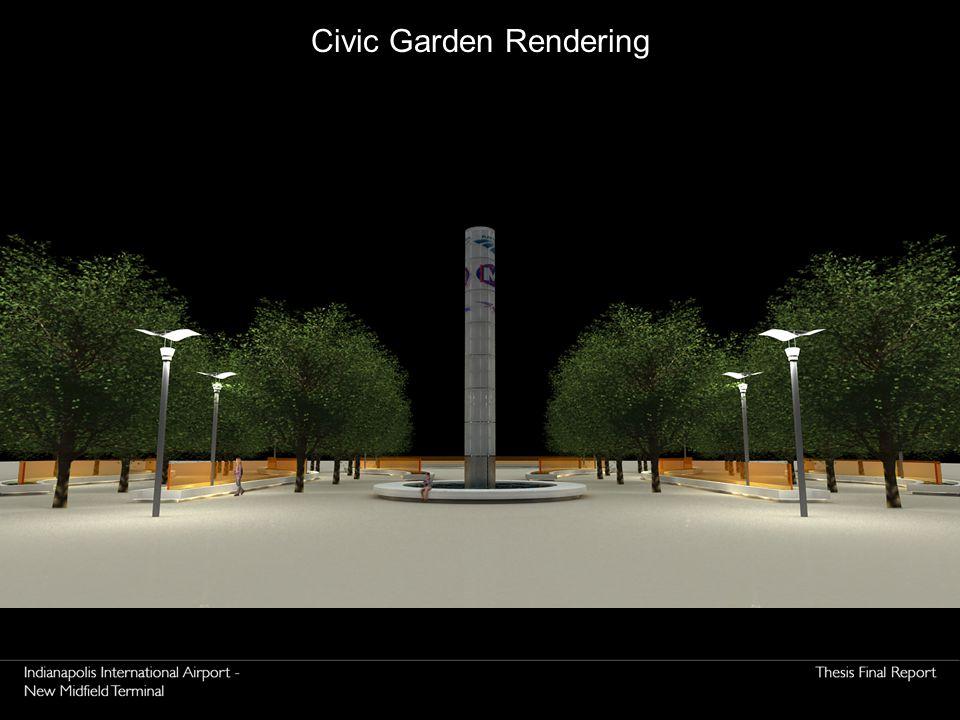 Civic Garden Rendering