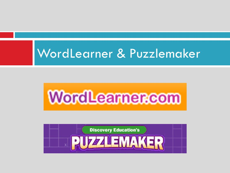 WordLearner & Puzzlemaker