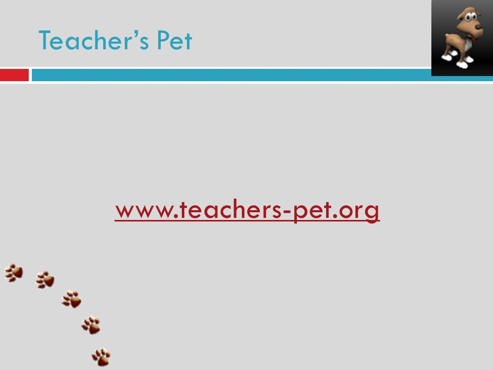 Teachers Pet www.teachers-pet.org