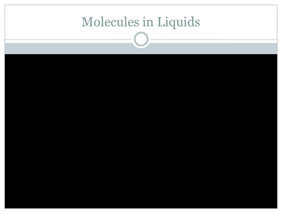Water Molecules: Evaporation & Condensation