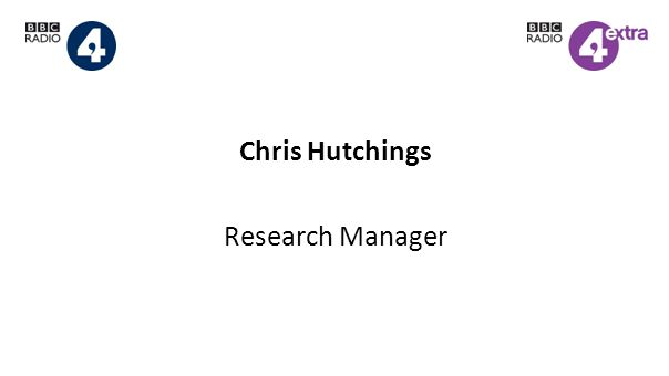 Chris Hutchings Research Manager
