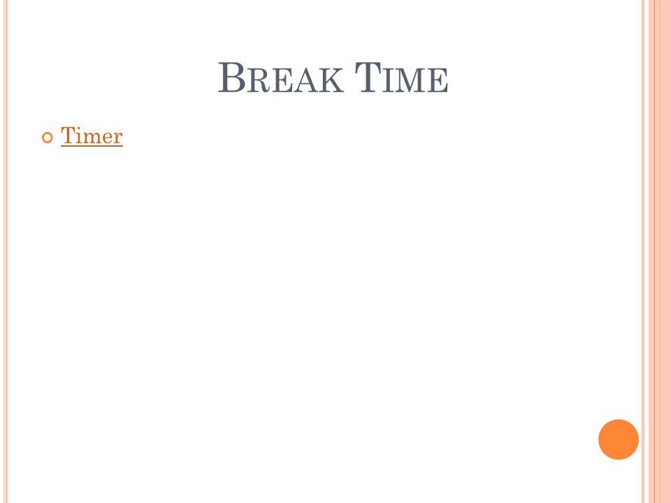 B REAK T IME Timer