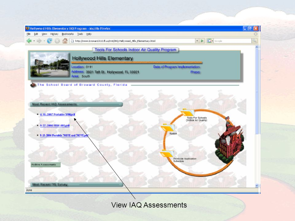 View IAQ Assessments
