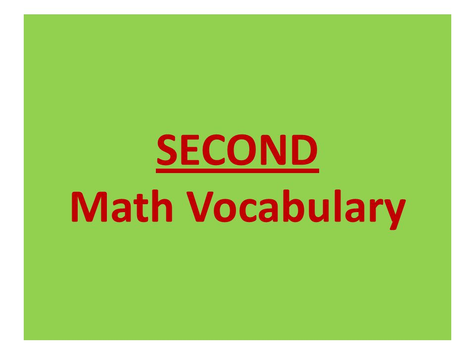 11/10/2011 68 Math Vocabulary quadrilateral – a four-sided polygon.
