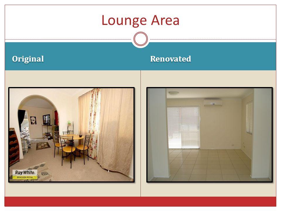 Original Renovated Lounge Area