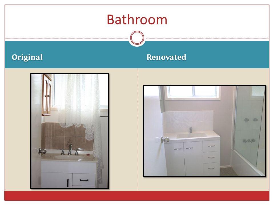Original Renovated Bathroom