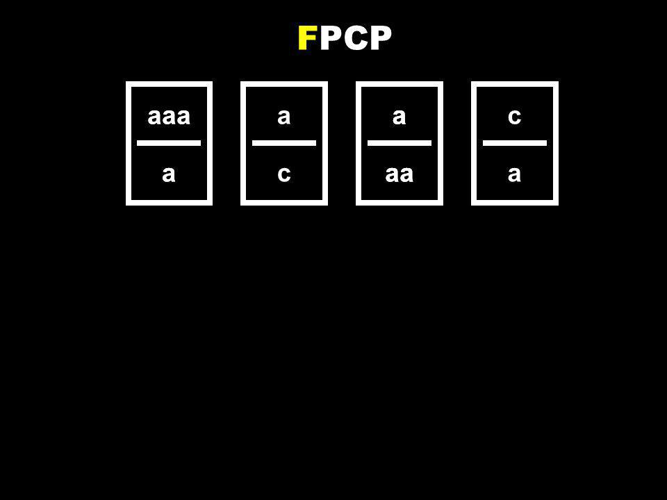 a aa aaa a a c a aa c a aaa a a aa FPCP