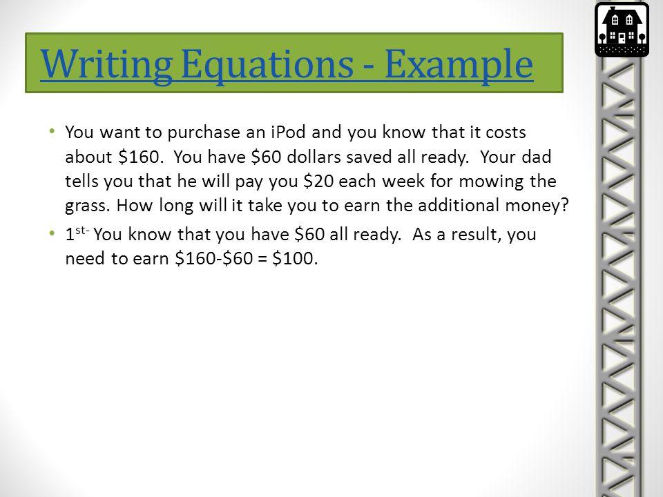Matrix Equations Solving Systems of Linear Equations algebraically